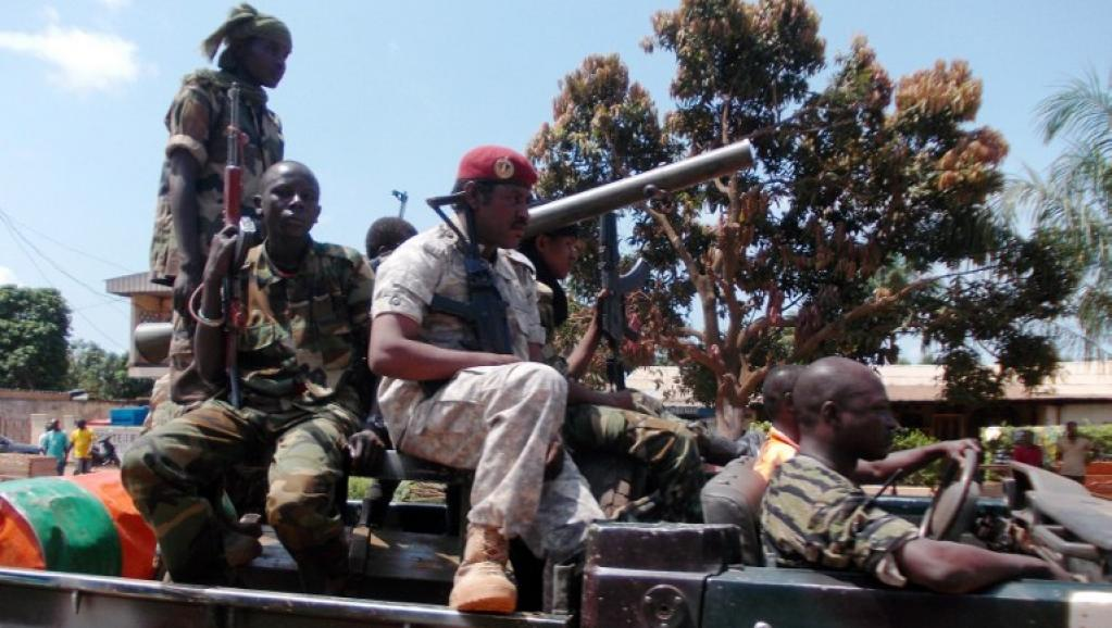 Des combattants de la Seleka en Centrafrique (archive). AFP/PACOME PABANDJI