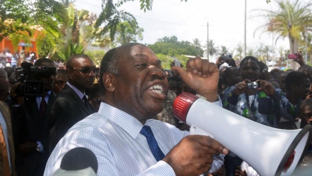 Le président gabonais Ali Bongo, le 20 mars 2013. AFP PHOTO / CELIA LEBUR