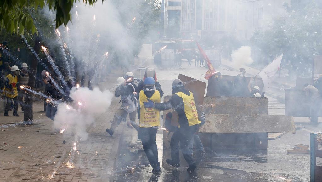 Turquie: un 1er mai sous tension à Istanbul