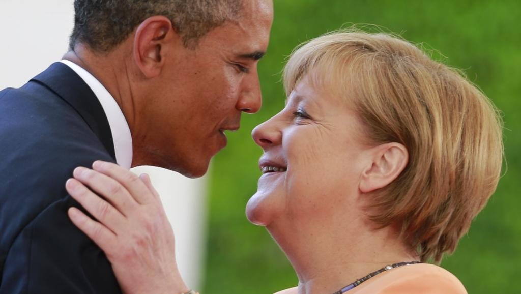 L'Ukraine au centre de la visite d'Angela Merkel aux Etats-Unis