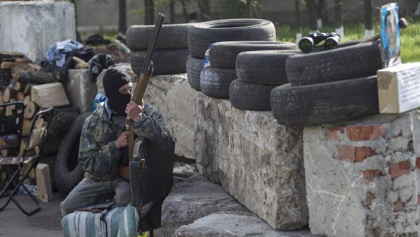 EN DIRECT : opération en cours contre les rebelles à Slaviansk en Ukraine