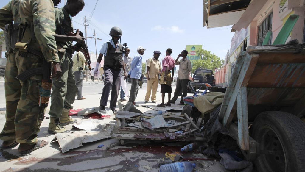 Dans les rues de Kidal, en juillet 2013. AFP/KENZO TRIBOUILLARD