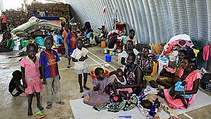 Des réfugiés sud-soudanais. Leur nombre en Ethiopie inquiète le HCR
