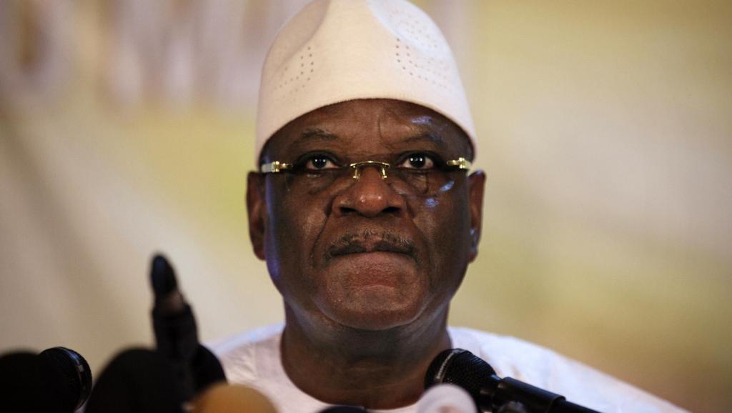 Le président malien Ibrahim Boubacar Keïta fait face aux critiques concernant son avion. REUTERS/Joe Penney