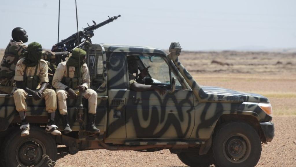 Patrouille de soldats nigériens