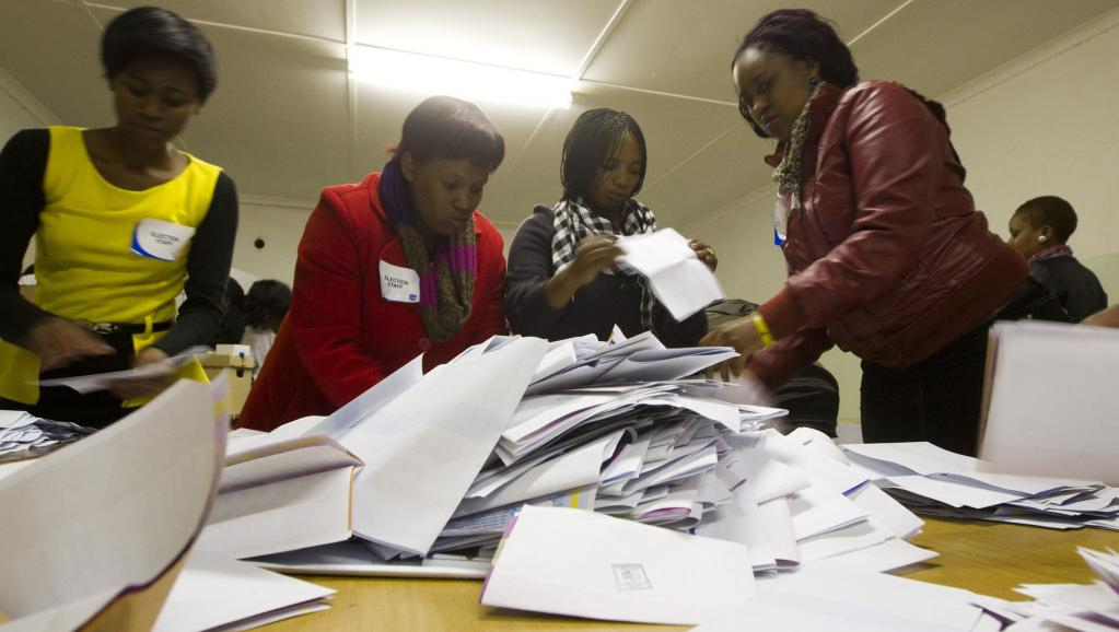 Afrique du Sud: vers une large victoire de l'ANC