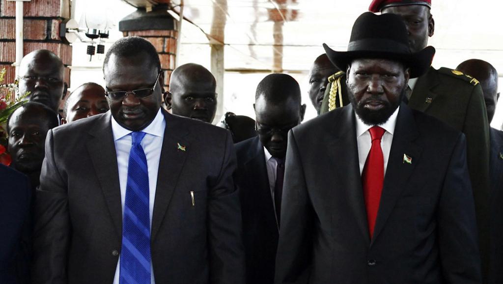 Soudan du Sud: un face-à-face inédit entre Salva Kiir et Riek Machar