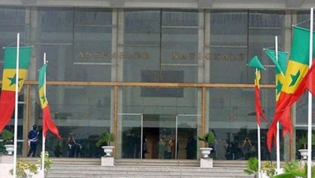Siège de l'Assemblée nationale à Dakar au Sénégal. Alcaly Cissé y est député au milieu des années 2000. DR