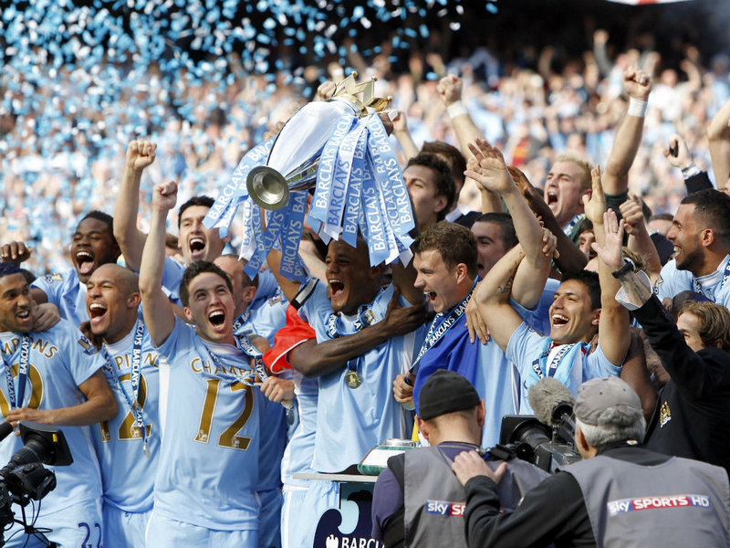Premier League : Man City sacré champion d'Angleterre