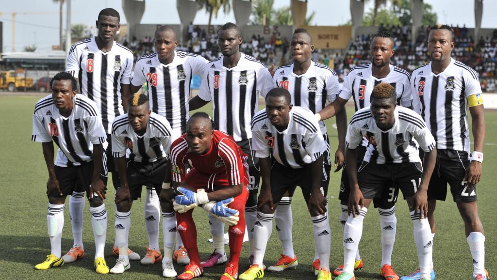 Les joueurs du Tout Puissant Mazembe. AFP PHOTO / Issouf Sanogo