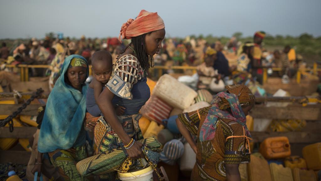 Près de 150 000 réfugiés ont traversé la frontières avec entre le TChad et la Centrafrique, ces derniers mois. REUTERS/Siegfried Modola