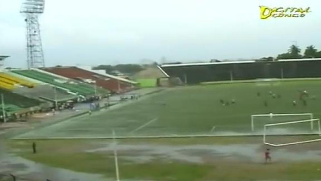 Le stade Tata Raphaël de Kinshasa, où s'est déroulé le drame. capture d'écran youtub