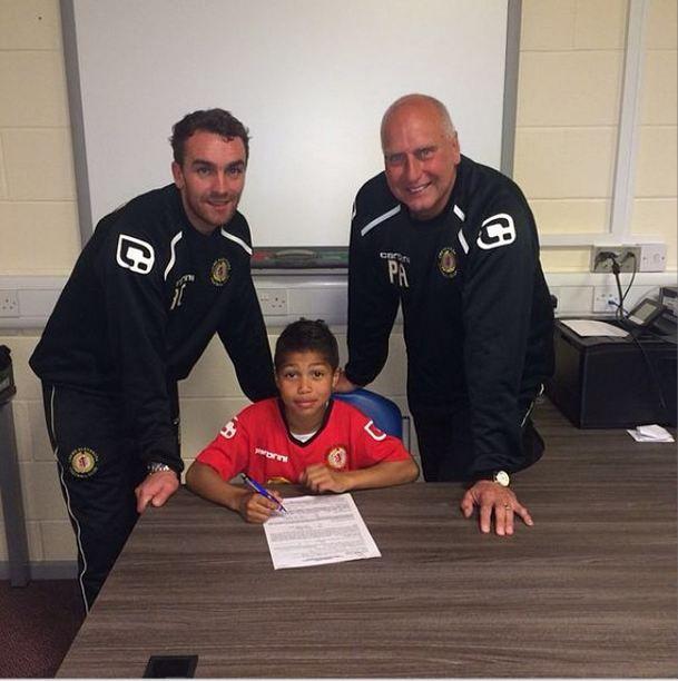 Le fils de Djibril Cissé signe dans un club anglais