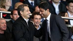 """PSG: Sarkozy """"le vrai président""""..."""