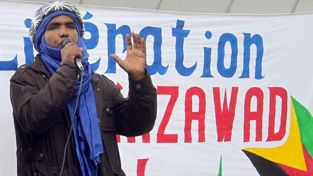 Mossa Ag Attaher, le porte-parole du Mouvement national de libération de l'Azawad (MNLA).