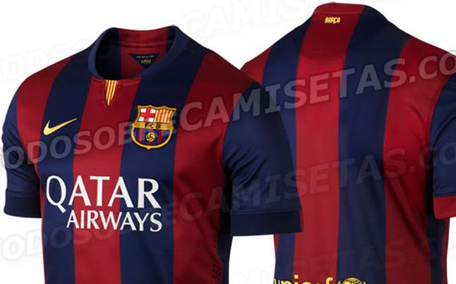 Le Barca a un nouveau maillot
