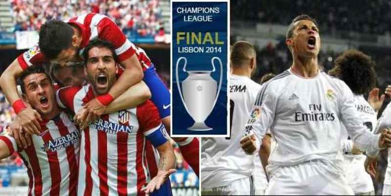 """Finale Ligue des Champions-Real 4-1 Atlético: la Decima pour les """"galactiques"""""""