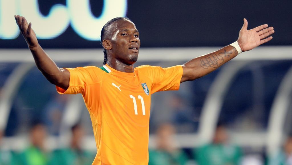 L'Ivoirien Didier Drogba. AFP PHOTO/Stan HONDA