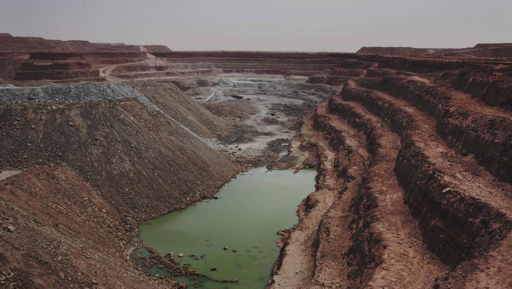 Le site d'exploitation d'uranium de Tamgak à Arlit (Niger), exploité par Areva, en septembre 2013. Reuters/Joe Penney
