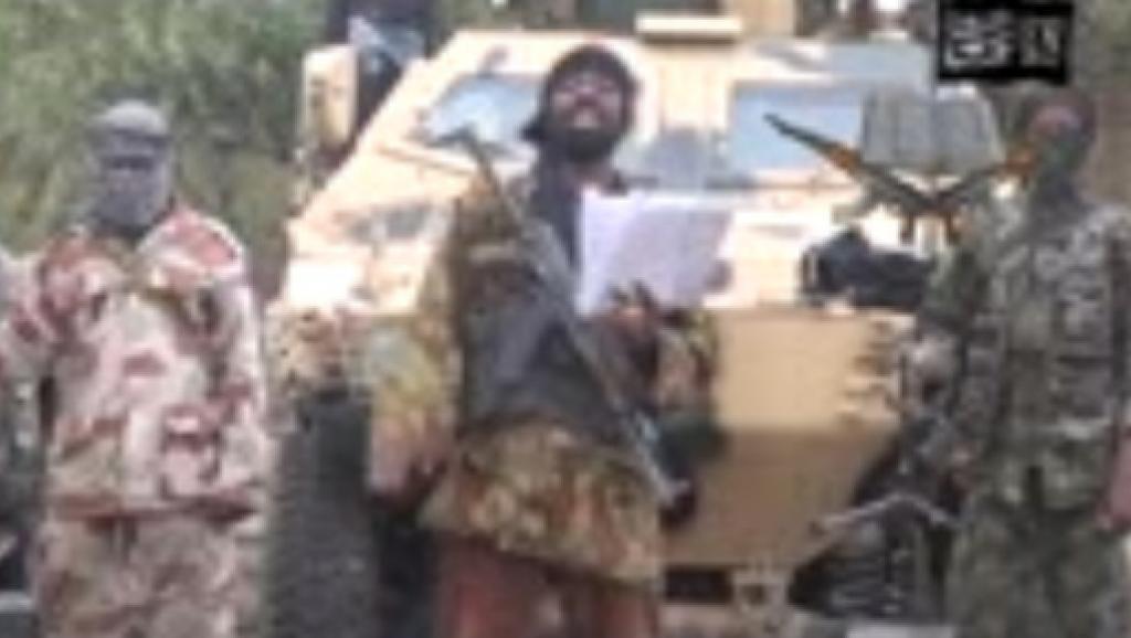 Capture d'écran d'une vidéo de Boko Haram Capture d'écran d'une vidéo de Boko Haram - AFP