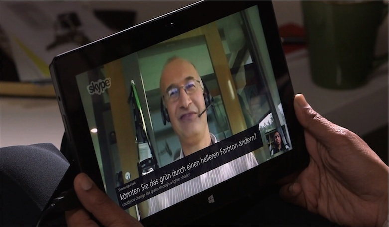 Microsoft veut faire de Skype un traducteur universel