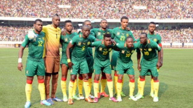 L'équipe nationale du Cameroun