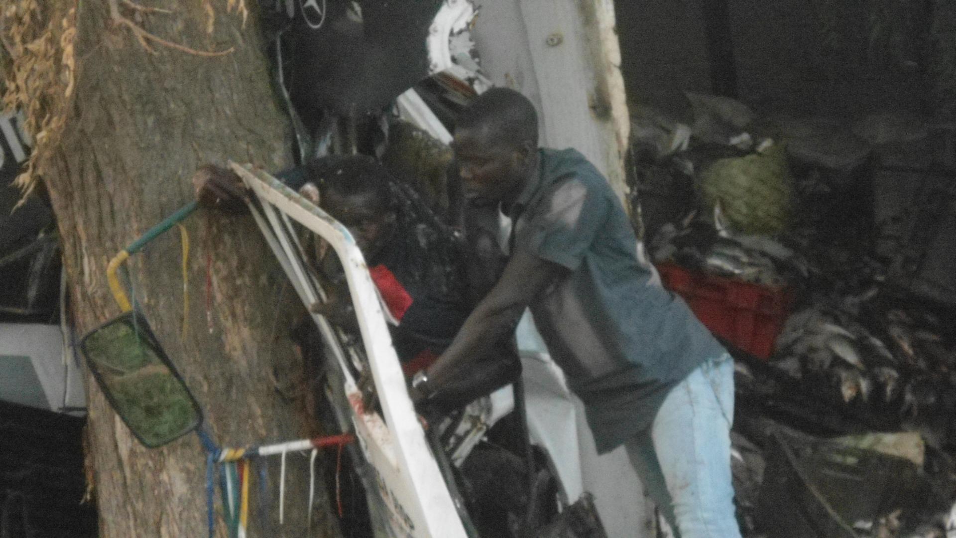 Dernière minute : Terrible et spectaculaire accident sur la route de Louga (PHOTOS)