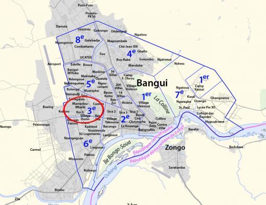 Accrochage à Bangui entre Misca et manifestants, deux morts