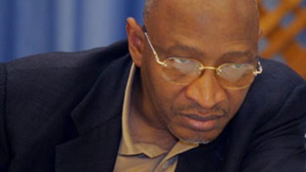 Soumeylou Boubeye Maïga, ex-ministre de la Défense malien. AFP/Georges Gobet