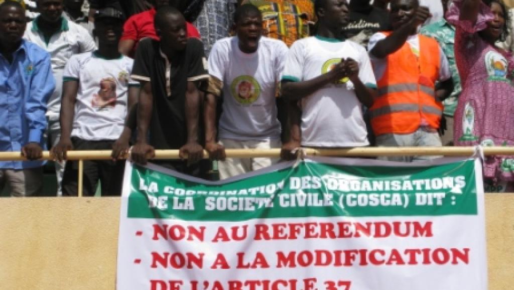 Stade du 4-Août à Ouagadougou, le samedi 31 mai 2014. RFI/Yaya Boudani