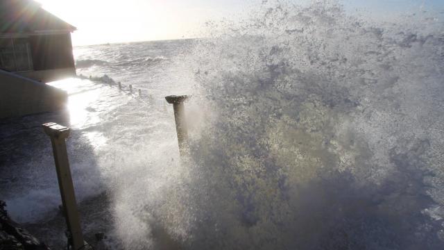 Houle dangereuse : l'île de Goré encore attaqué