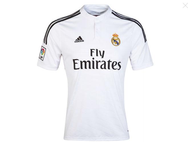 Les nouveaux maillots du Real !