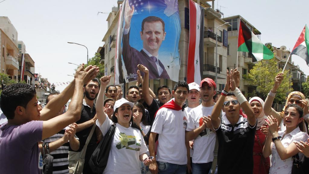 Syrie: le camp de Bachar el-Assad célèbre déjà sa victoire