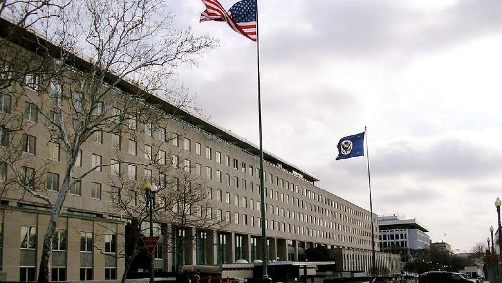 Le département d'État à Washington. Loren / Wikipédia