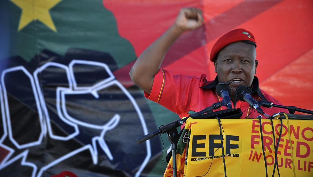 Afrique du Sud: Julius Malema refait parler de lui