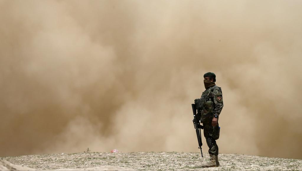 Soldat de l'armée nationale afghane, le 7 mai 2014. REUTERS/Mohammad Ismail