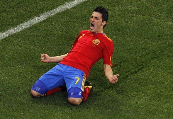 Mondial-Préparation: Villa porte l'Espagne face au Salvador