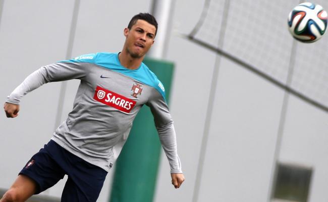 Portugal : C. Ronaldo de retour à l'entraînement collectif