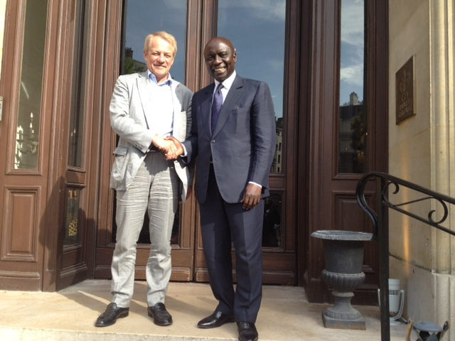 Coopération décentralisée : Thiès développe des projets avec Cergy Pontoise (France)