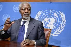 Présentation Rapport annuel sur les progrès en Afrique: Kofi Annan conduit les réflexions à Dakar