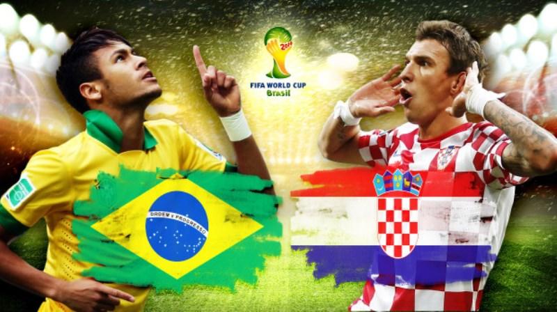 CDM 2014-Brésil vs Croatie: les Compositions probables