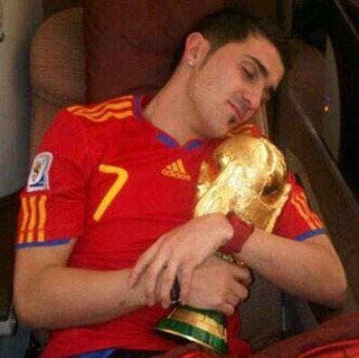 CDM 2014 : David Villa pas prêt de céder la Coupe