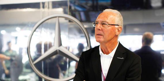 Coupe du monde Brésil 2014 : Beckenbauer suspendu par la FIFA