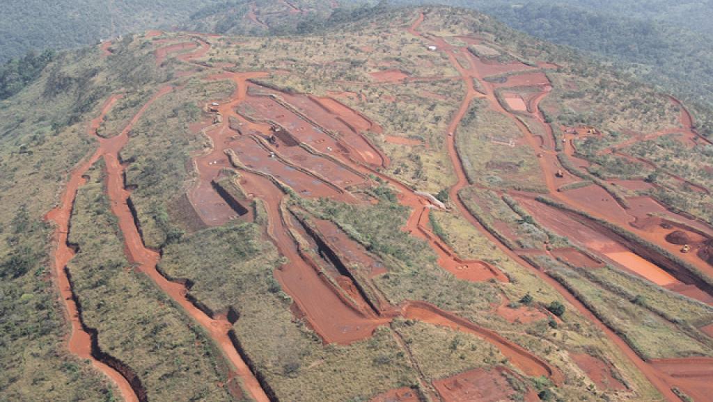 La région du Simandou détient l'un des gisements de fer les plus importants au monde. Copyright © 2014 Rio Tinto