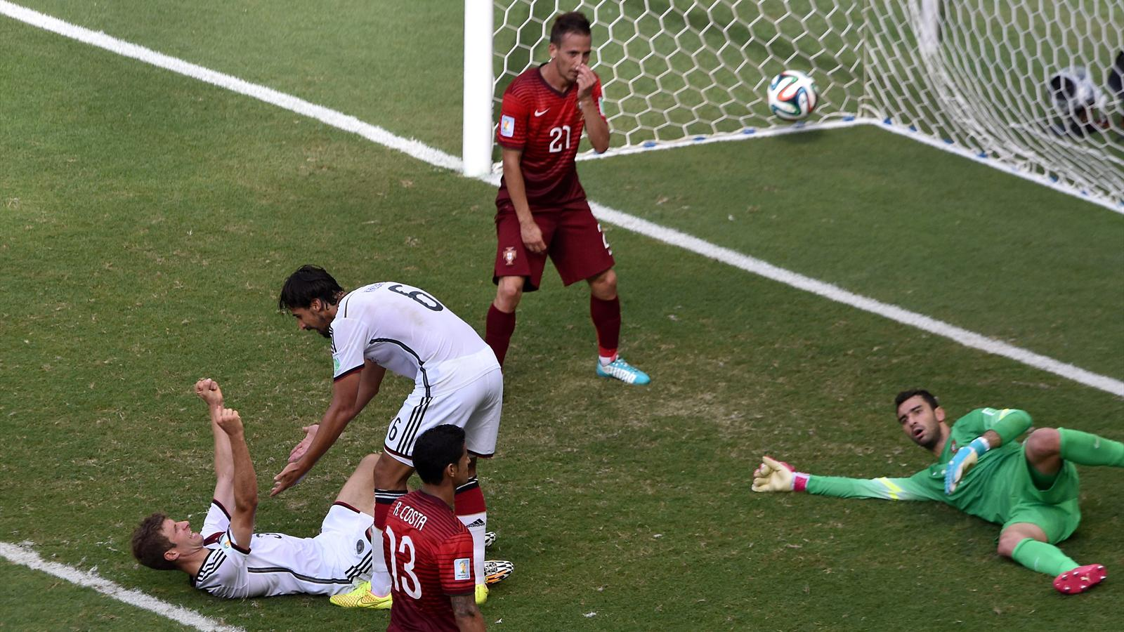 CDM 2014-Allemagne 4-0 Portugal: Müller puissance 3