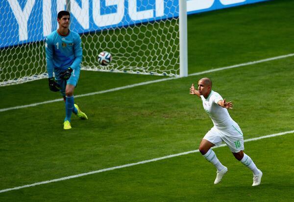 """CDM 2014-Algérie 1-2 Belgique: Bien partis, les """"Fennecs"""" finalement dans l'étau des """"Diables rouges"""""""