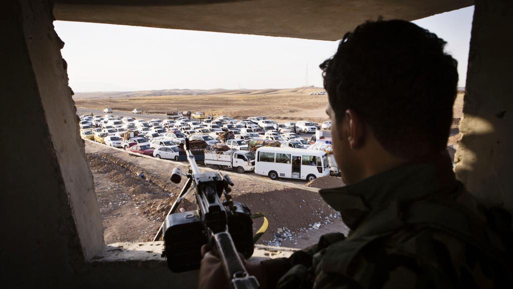 Quelque 200 000 personnes, soit la moitié de la population de Tal Afar et ses environs, ont fui ces derniers jours.