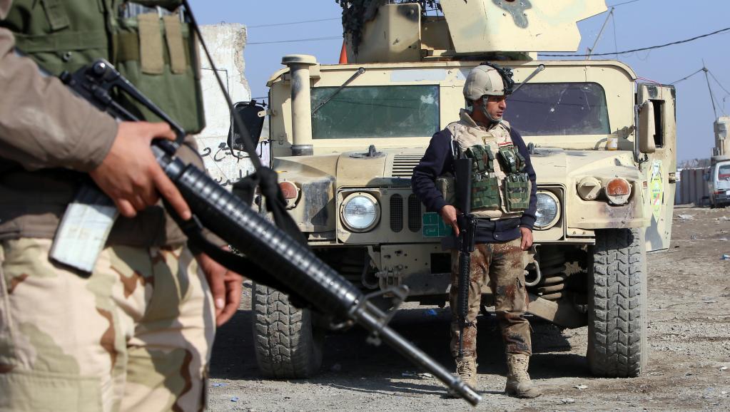 A Baqouba et dans la province de Kirkouk, l'armée irakienne aurait repoussé les jihadistes de l'Etat islamique en Irak et au Levant (EIIL).. AFP PHOTO / ALI AL-SAADI