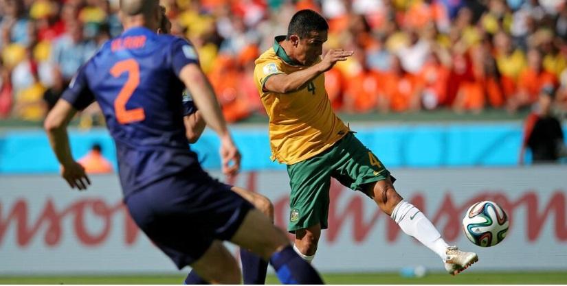 CDM-Australie 2-3 Pays Bas: Van Persie et Cie maîtrisent les Kangourous et quasiment en 8es de finale