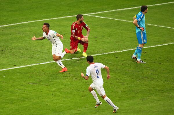 CDM- Coup de tonnerre au Brésil: Tenante du titre, l'Espagne sort dès le 1er tour